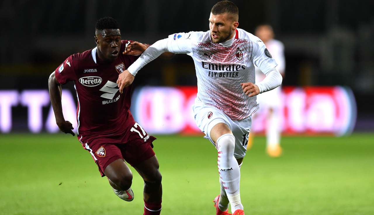 Rebic supera Singo in Torino-Milan