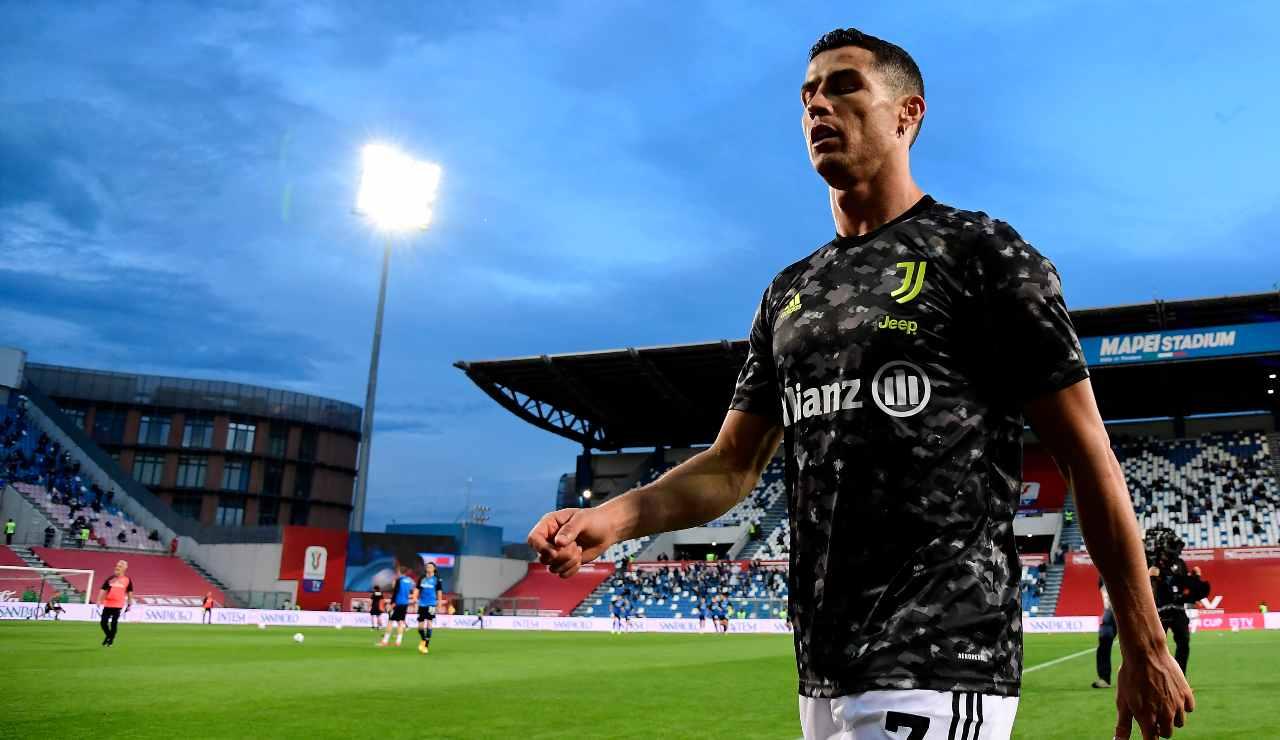 Ronaldo entra in campo