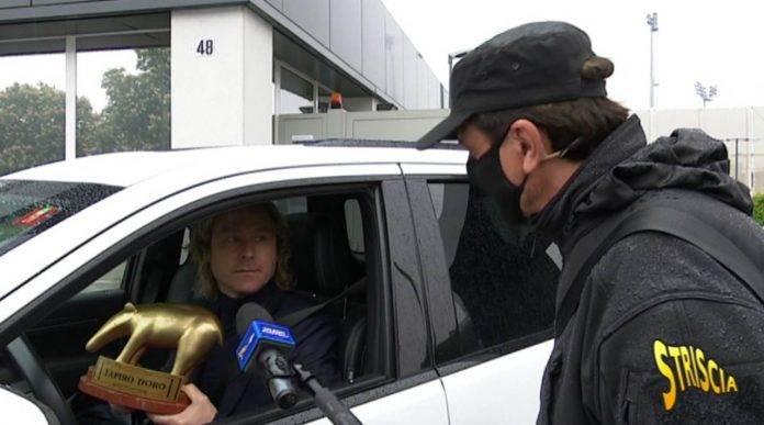 Pavel Nedved e Valerio Staffelli