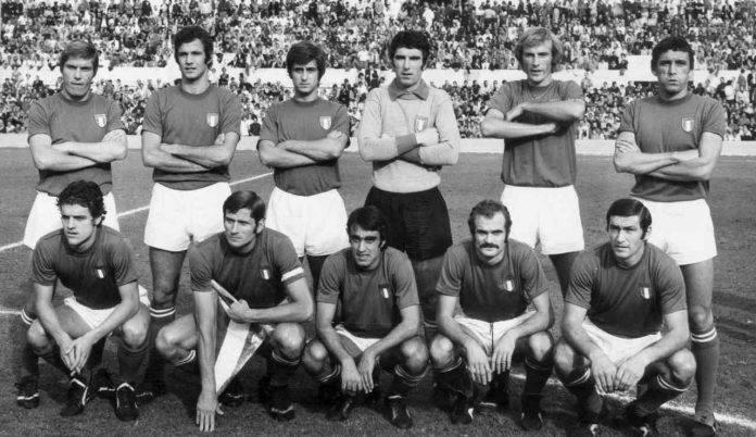 La Nazionale italiana del 1973