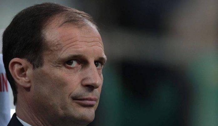 sguardo Allegri Juventus