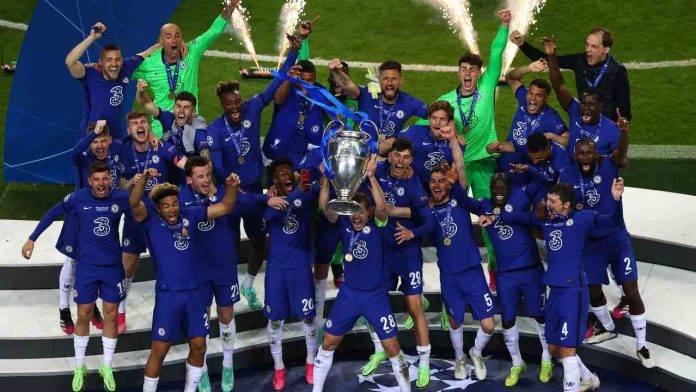Il Chelsea ha alzato l'ultima Champions League