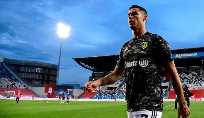 Cristiano Ronaldo lascia il campo