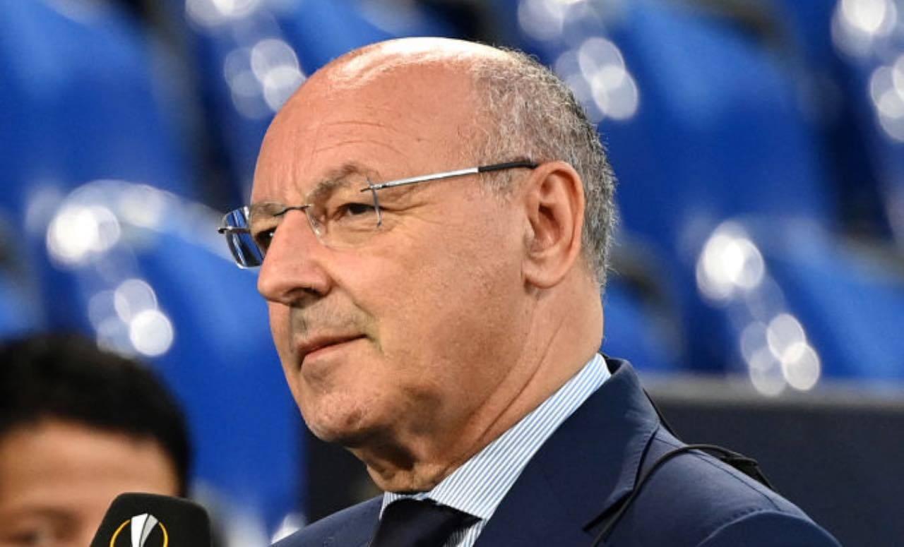 Marotta durante un match di Europa League