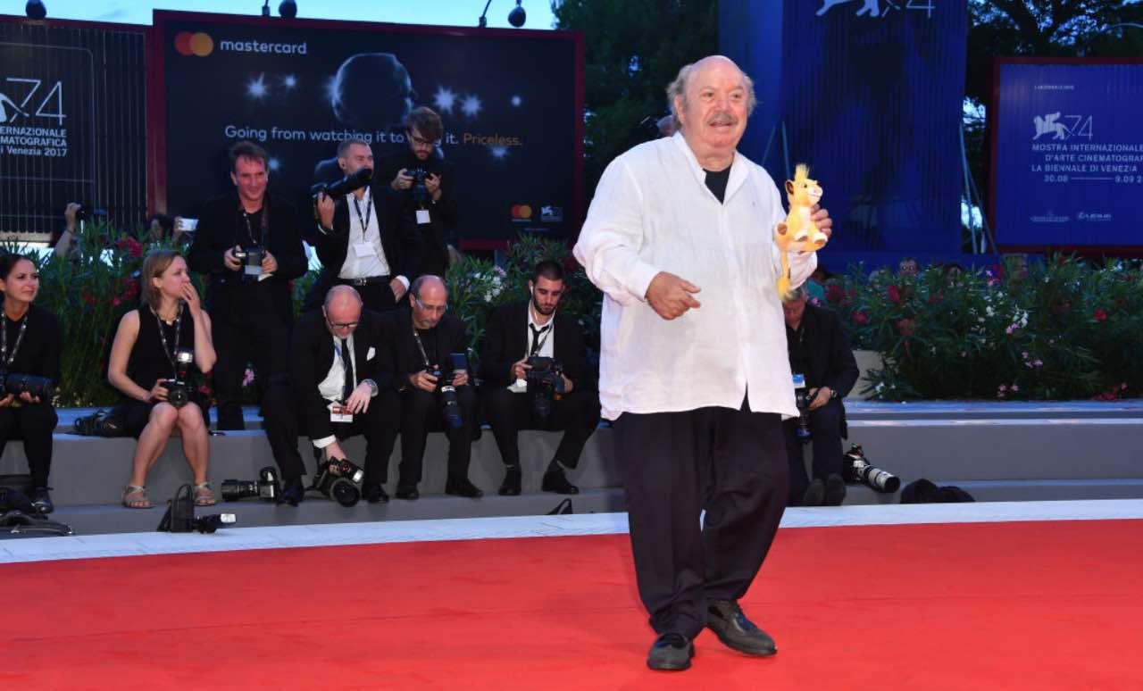 Lino Banfi al Festival di Venezia