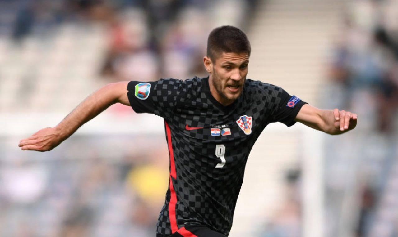 Kramaric con la nazionale croata