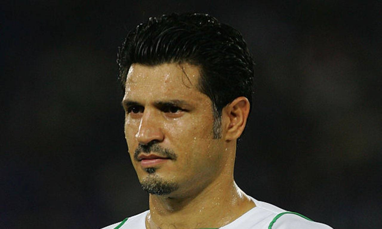 Ali Daei con la maglia della nazionale iraniana