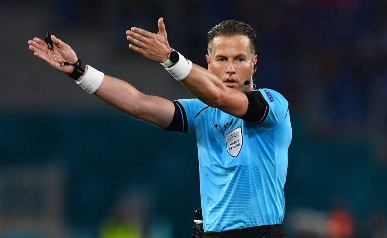 L'arbitro olandese Danny Makkelie