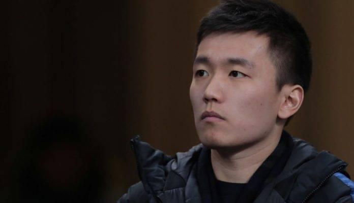 Zhang allo stadio per vedere l'Inter