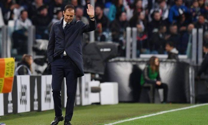 Allegri in Juventus-Atalanta