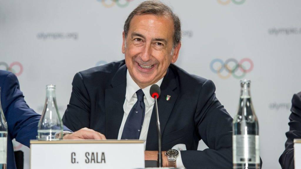 Il sindaco di Milan Sala
