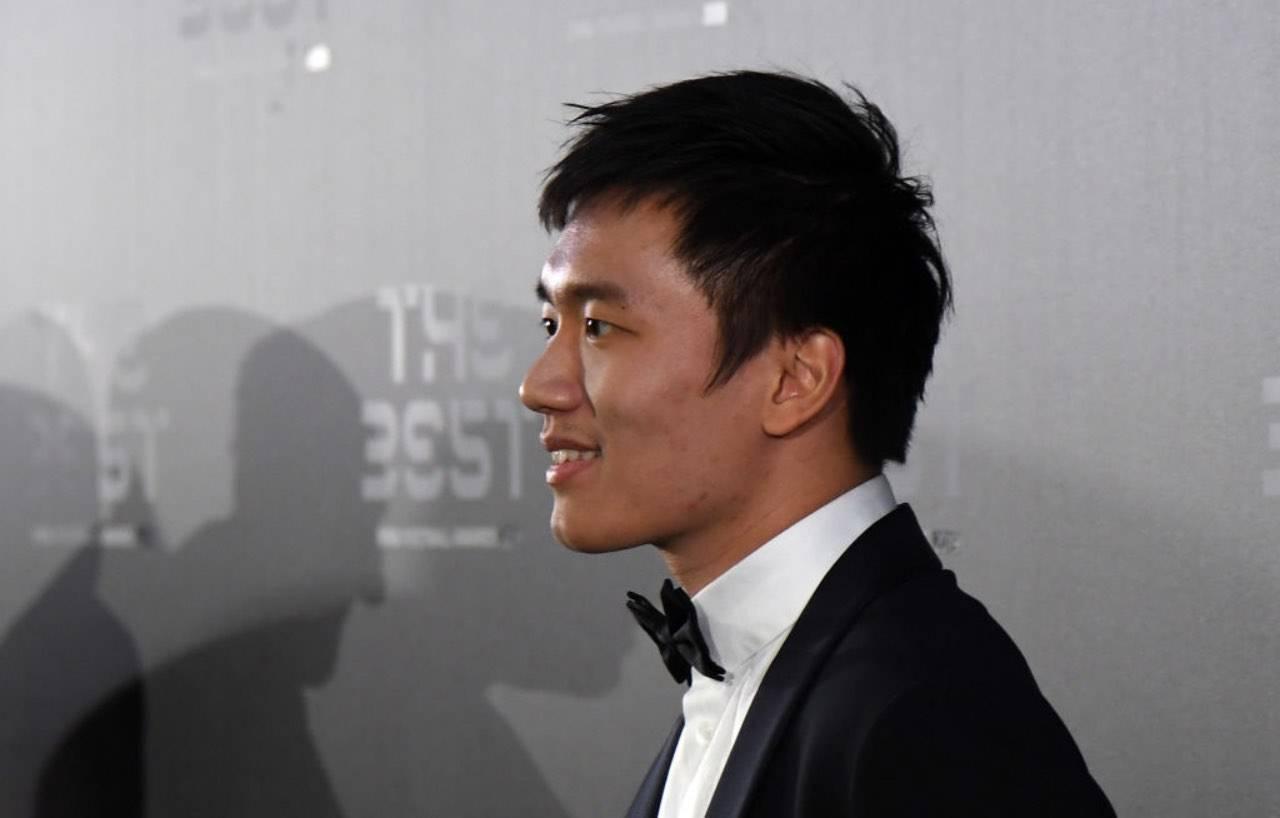 Zhang durante i Fifa Football Awards del 2019