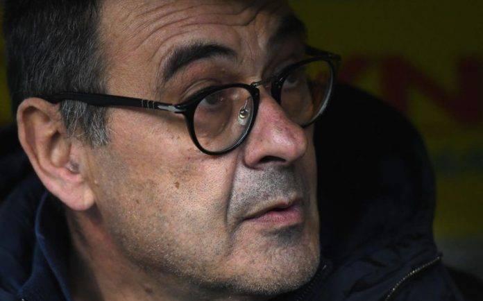 Sarri in panchina ai tempi della Juventus