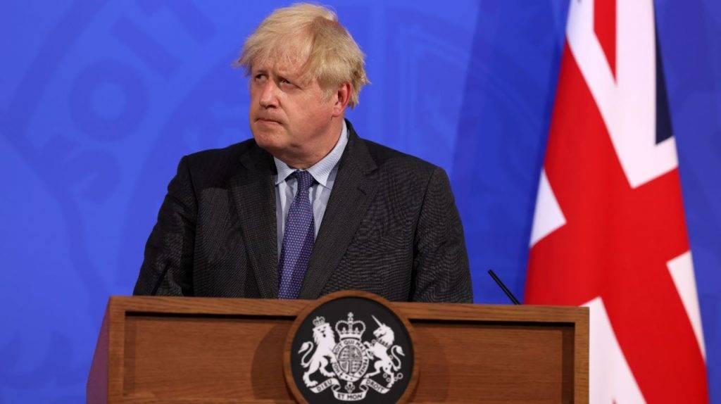 Il Primo Ministro Boris Johnson