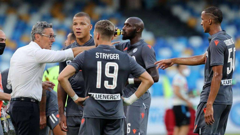 Gotti fornisce indicazioni all'Udinese