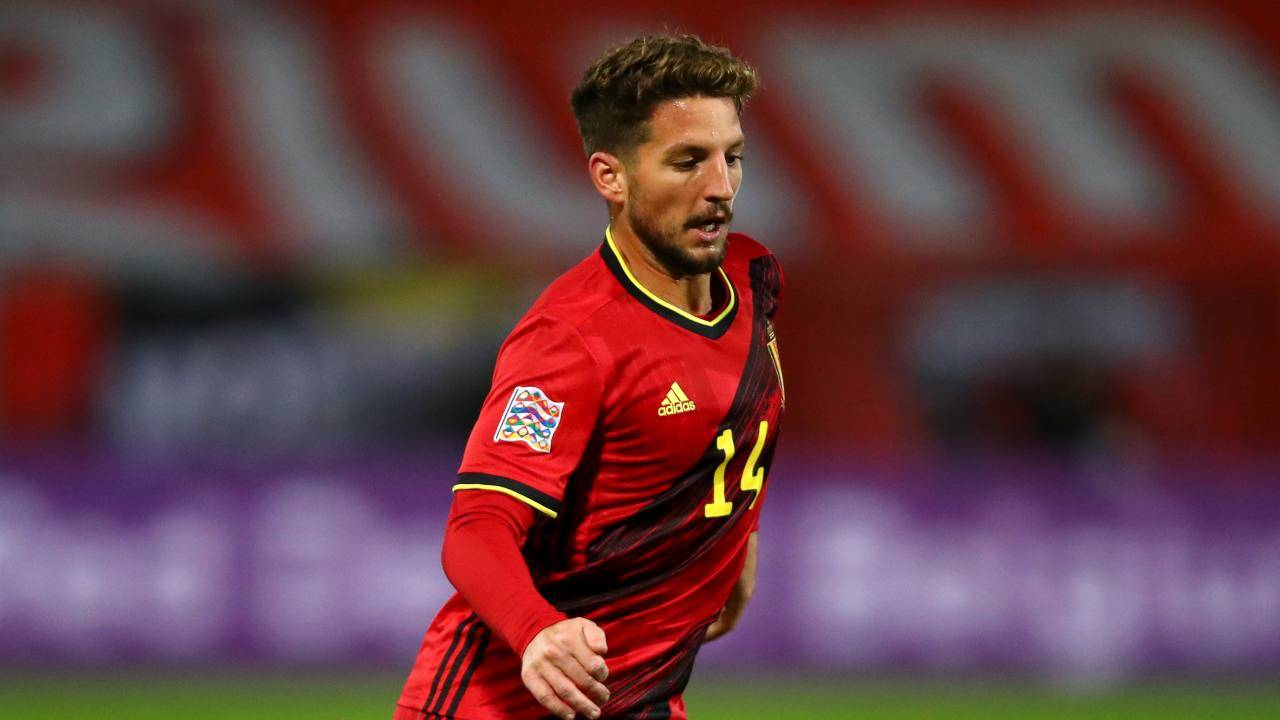 Dries Mertens in campo