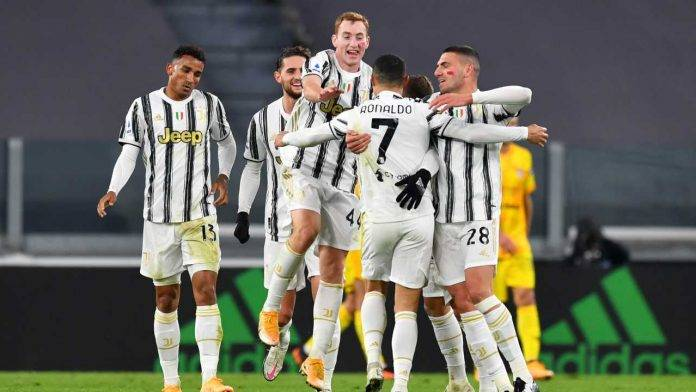 La Juventus esulta