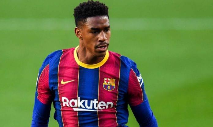 Junior Firpo in Barcellona-Osasuna
