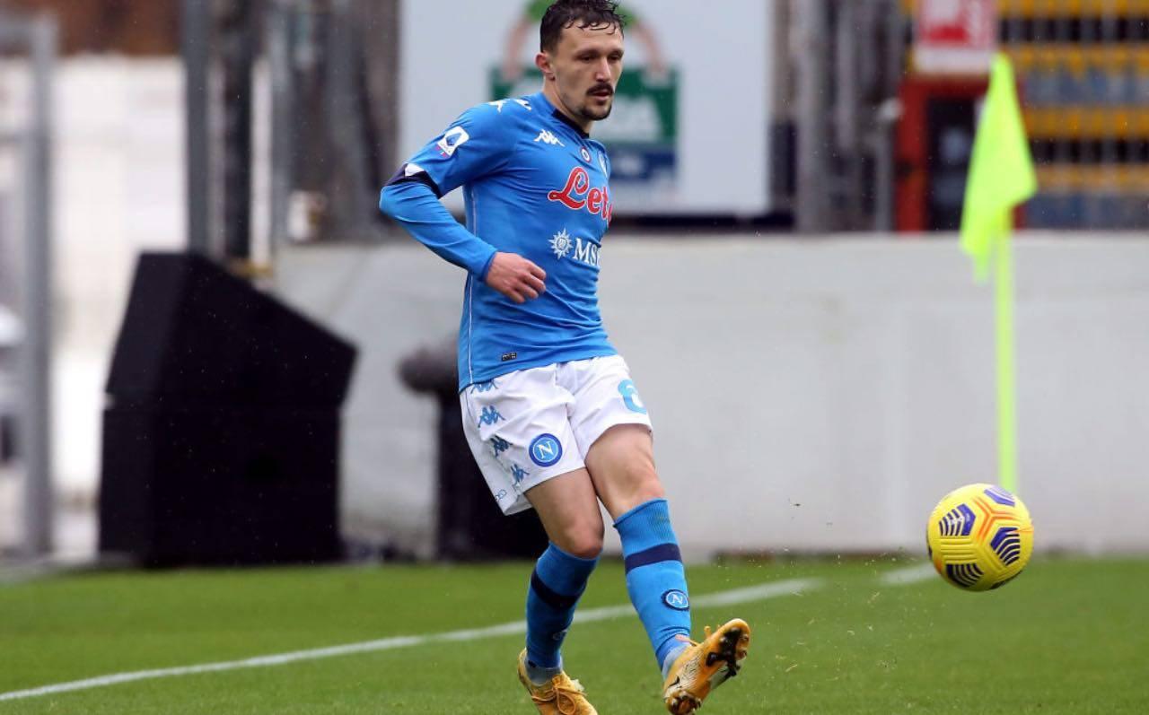 Mario Rui in Cagliari-Napoli