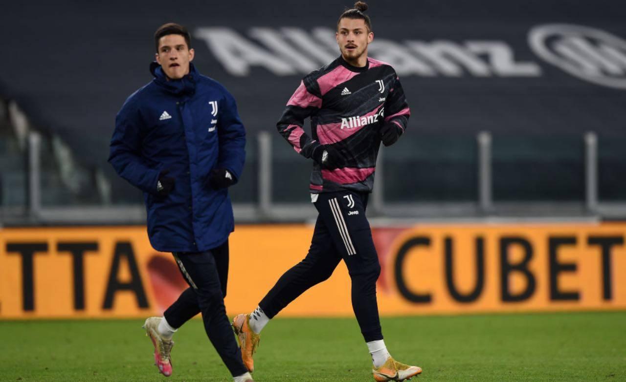 Dragusin in Juventus-Inter di Coppa Italia
