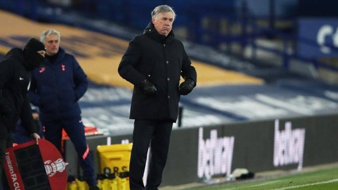 Ancelotti in campo
