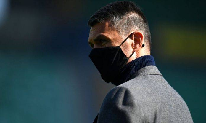 Maldini in Verona-Milan