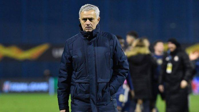 Jose Mourinho in campo