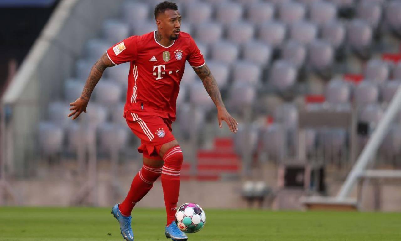 Boateng in azione col Bayern Monaco