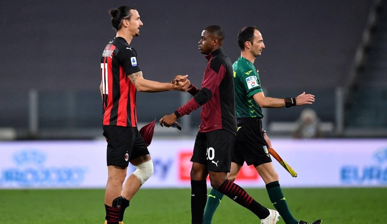Ibrahimovic, leader del Milan