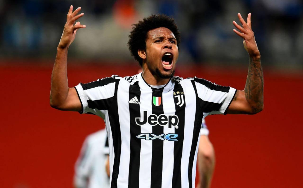 McKennie in Juventus-Atalanta