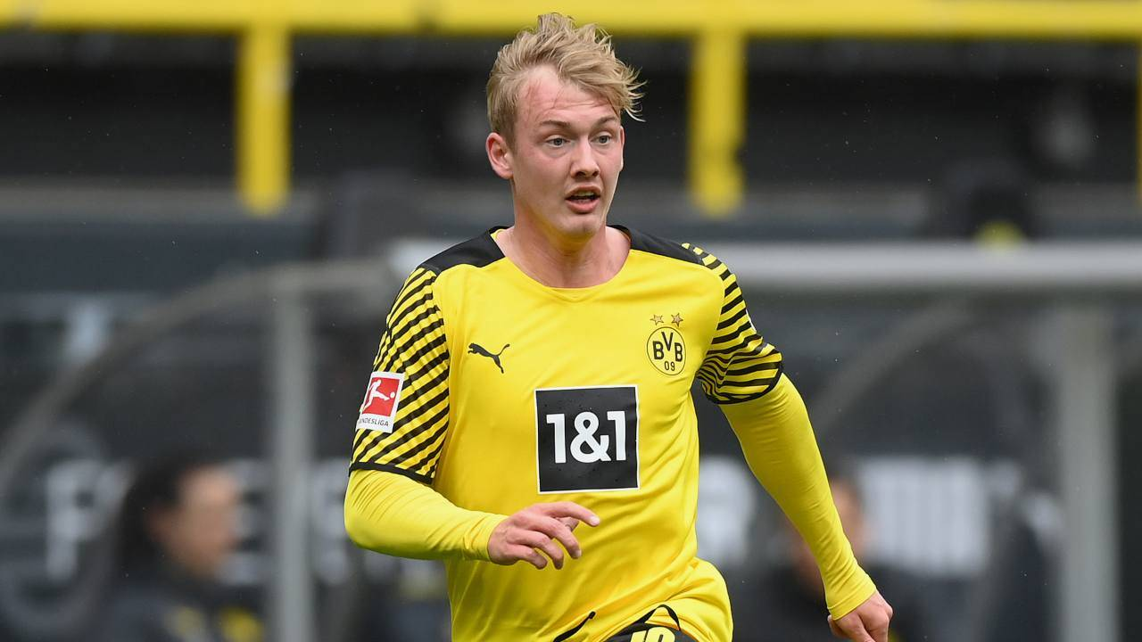 Julian Brandt in campo