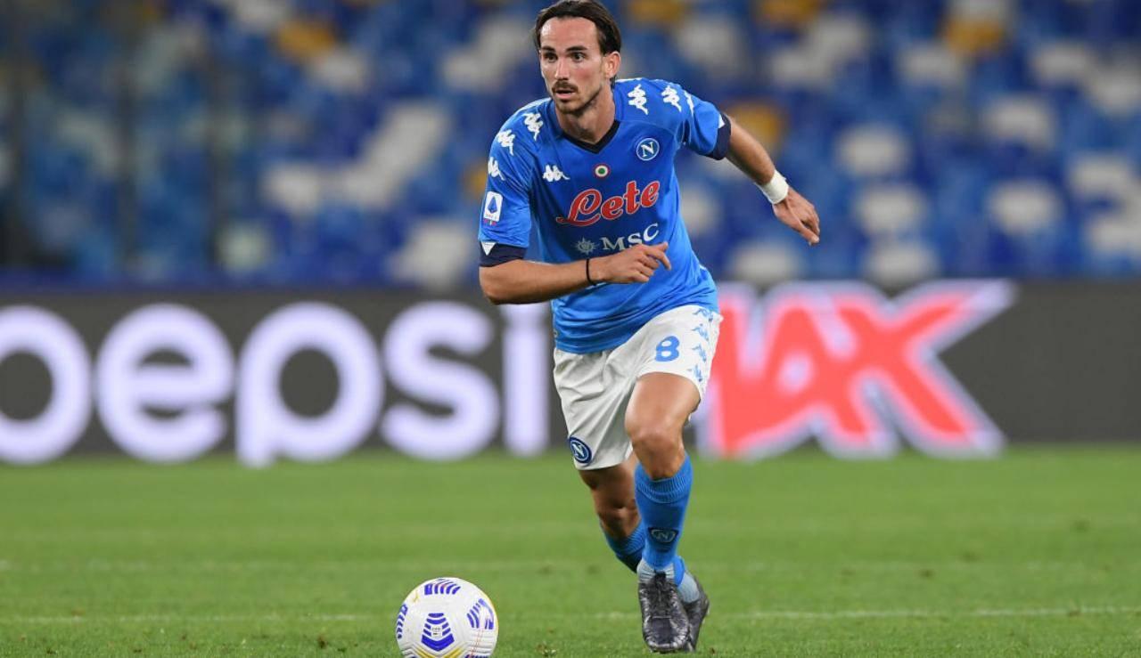 Fabian Ruiz porta palla