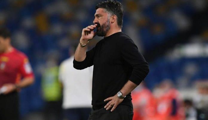Gattuso in Napoli-Verona