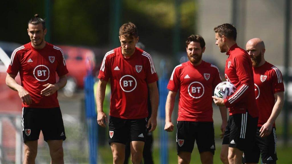 Ramsey si allena con il Galles
