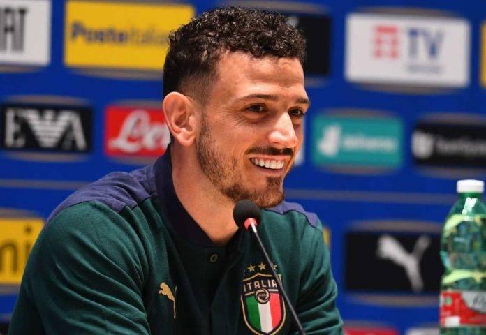 Italia, Florenzi in conferenza stampa