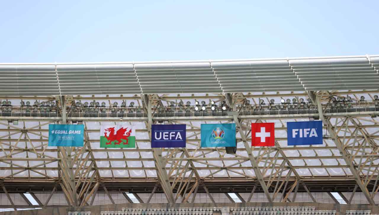 Gli allestimenti per Euro 2020