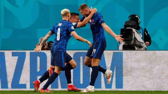 La Slovacchia esulta