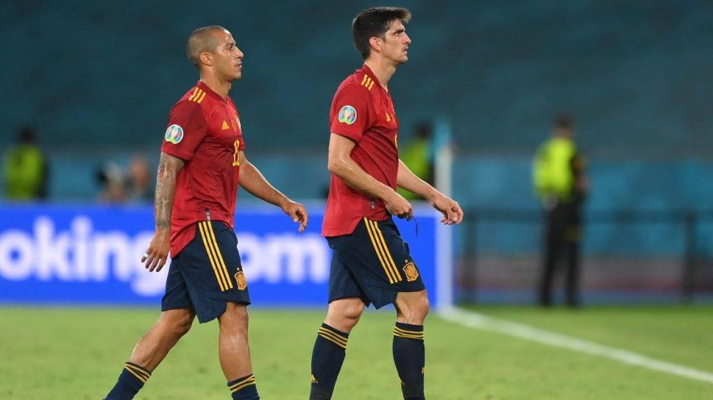 Thiago Alcantara e Gerard Moreno delusi