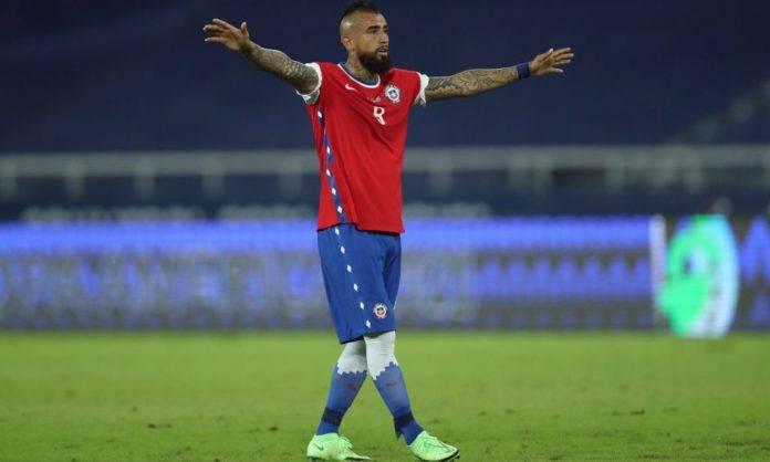 Vidal in Argentina-Cile