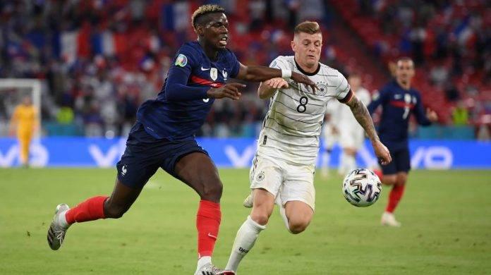 Pogba in azione contro la Germania