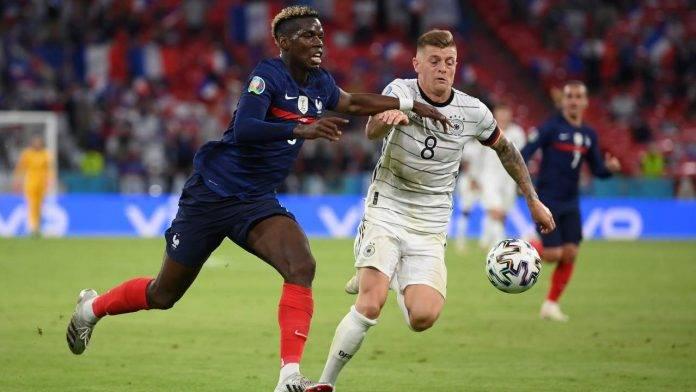 Francia-Germania in campo