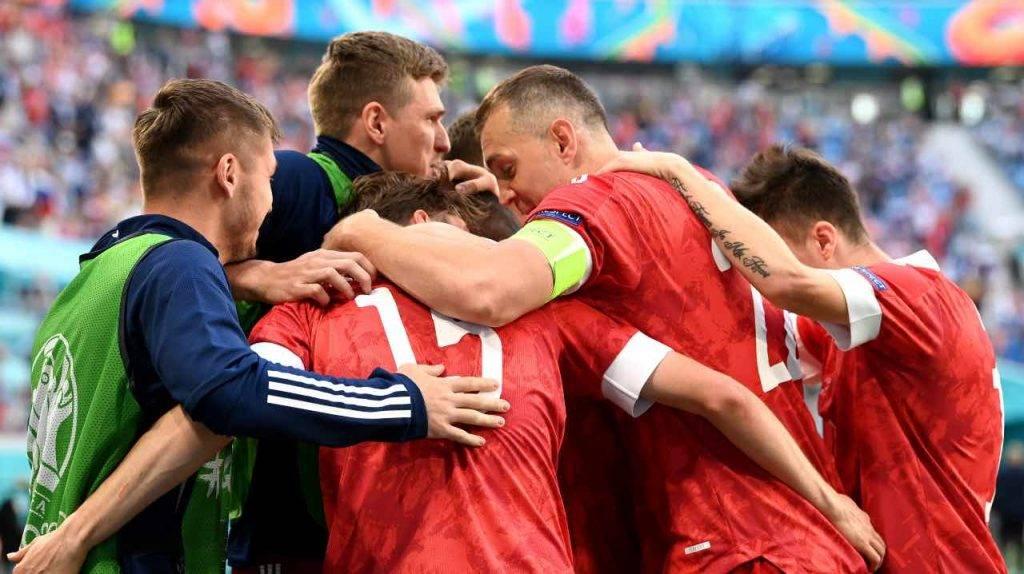 La Russia festeggia