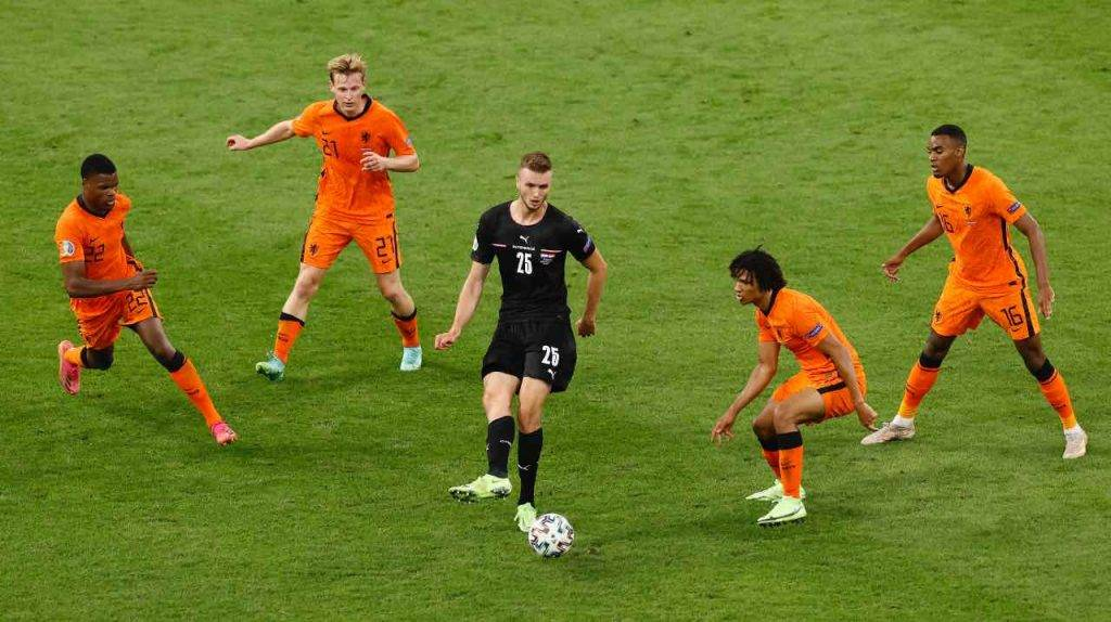 Kalajdzic contro l'Olanda
