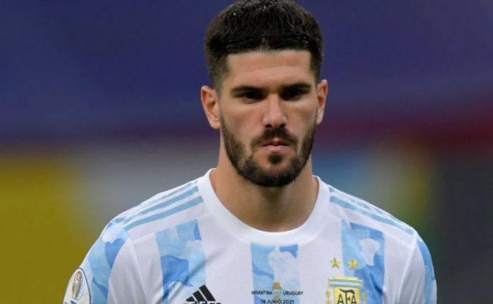 De Paul con la maglia dell'Argentina