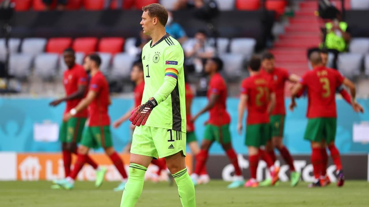 Manuel Neuer in campo