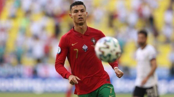 Cristiano Ronaldo in campo
