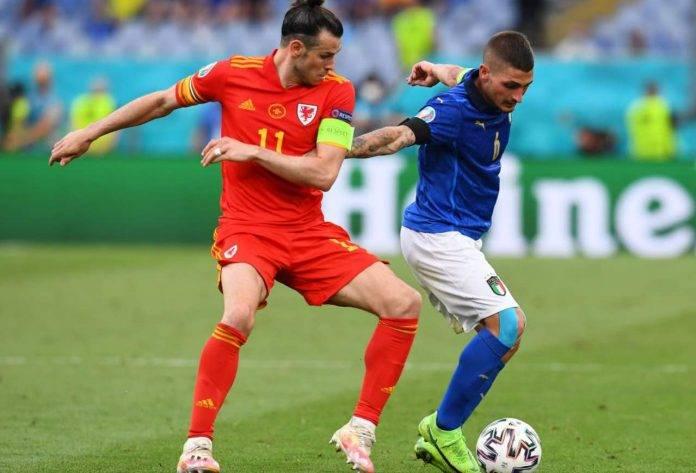 Verratti e Bale in Italia-Galles