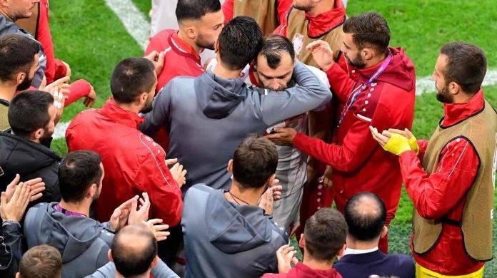 Goran Pandev salutato dalla Nazionale