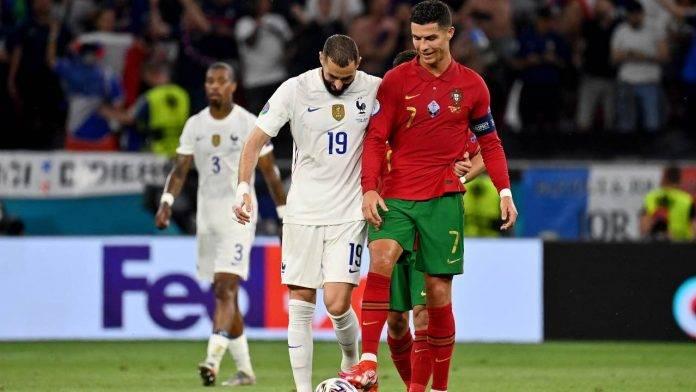 Cristiano Ronaldo e Benzema