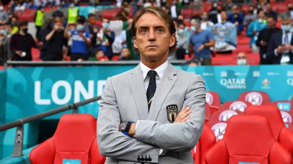Mancini in panchina